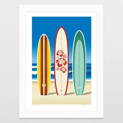 Surf's Up Art Print-Glenn Jones Art