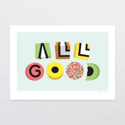 Glenn Jones Art All Good Art Print Art Print
