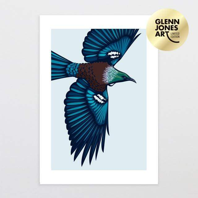 Glenn Jones Art High Flyer - A2 Limited Edition Art Print Art Print