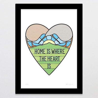Glenn Jones Art Home Art Print Art Print