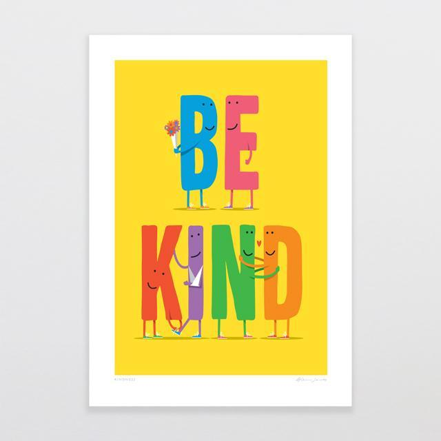 Glenn Jones Art Kindness Art Print Art Print