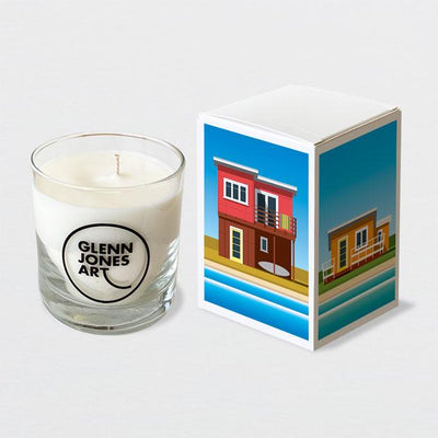Glenn Jones Art Baches Candle candle