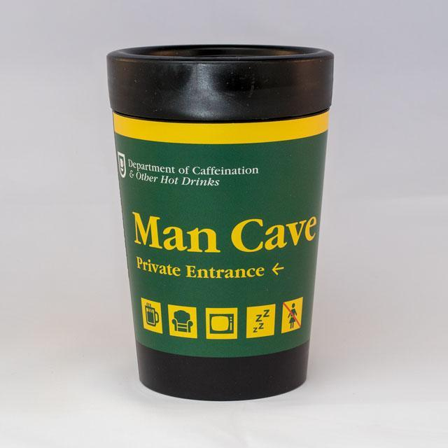 Man Cave Reusable Cup-Glenn Jones Art