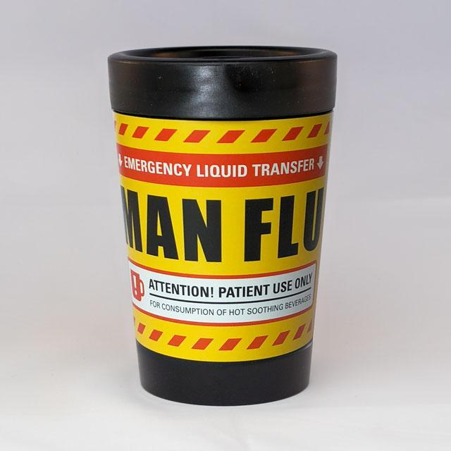 Man Flu Reusable Cup-Glenn Jones Art