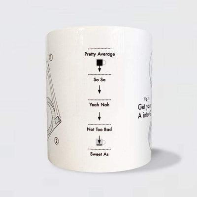 Glenn Jones Art A in to G Mug mug