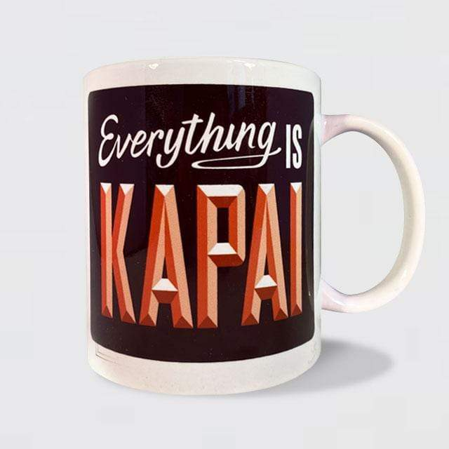 Glenn Jones Art Everything is Kapai Mug mug