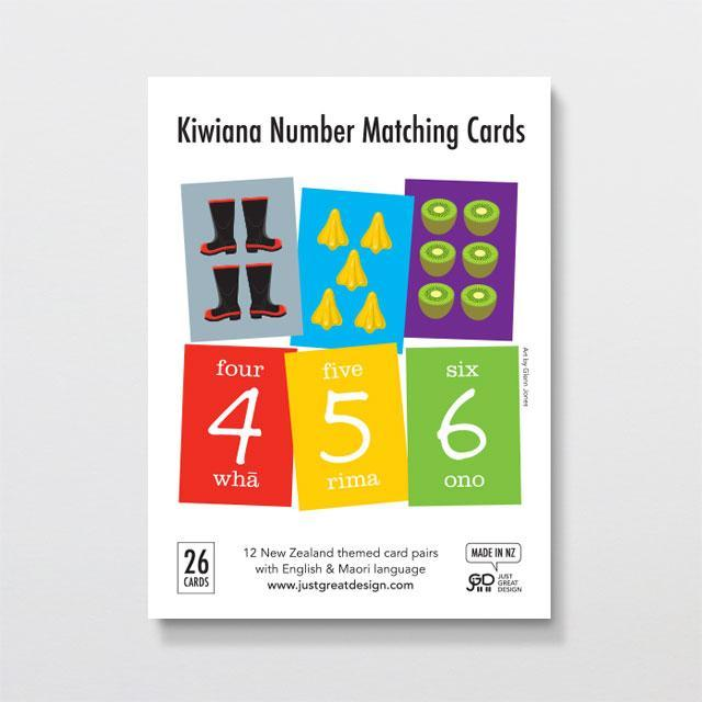 Kiwiana Matching Cards-Glenn Jones Art