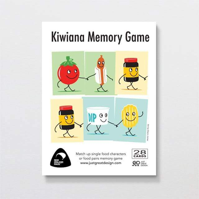 Glenn Jones Art Kiwiana Memory Game Cards Other
