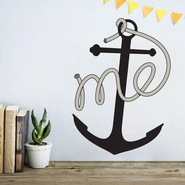 Anchor Me Wall Decal-Glenn Jones Art