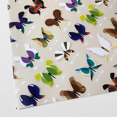 Butterfly Bird Wrapping Paper-Glenn Jones Art