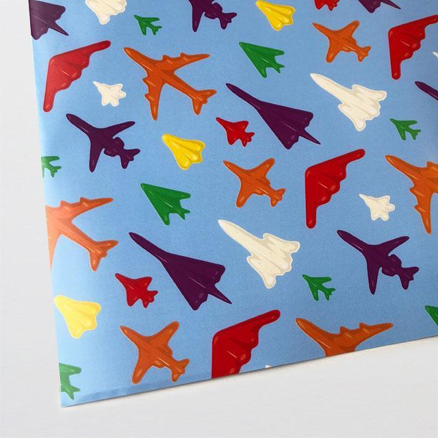 Jet Planes Wrapping Paper-Glenn Jones Art