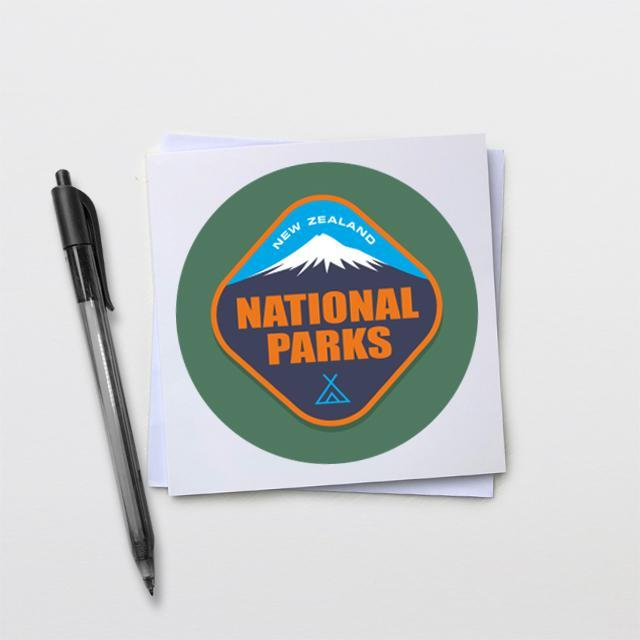 National Parks Card-Glenn Jones Art