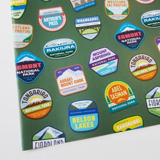National Parks Wrapping Paper-Glenn Jones Art