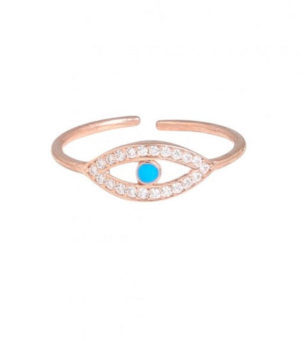 Aegean Ring in Rose Gold