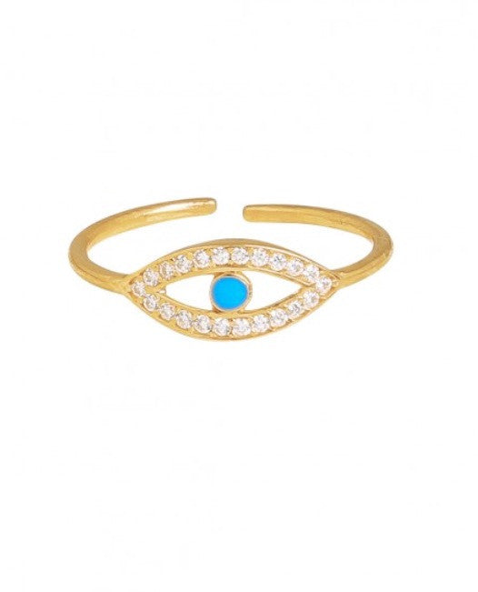 Aegean Ring in Gold
