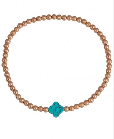 Aegean Bracelet in Rose Gold