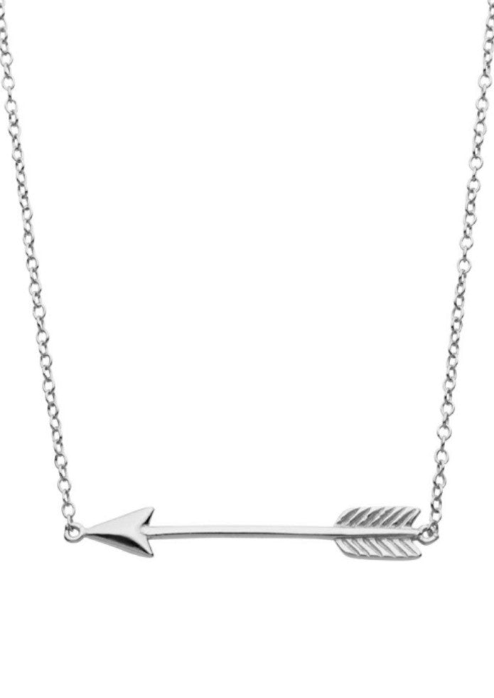 Arrow Necklace in Sterling Silver