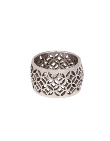 Ornate Ring in Sterling Silver