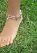 Faith Anklet in Sterling Silver