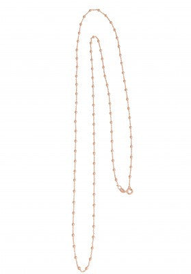 Necklace with Ball Chain 90cm in Silver
