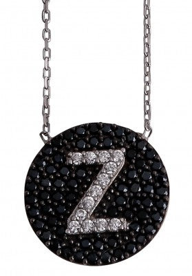 "Letter ""Z"" Necklace in Sterling Silver"