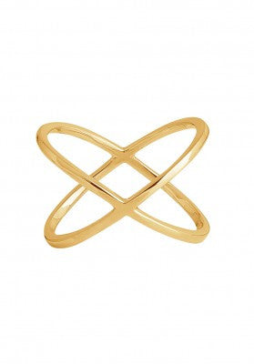 The X Ring in Rose Gold
