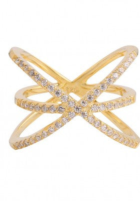 Starlight Ring in Gold