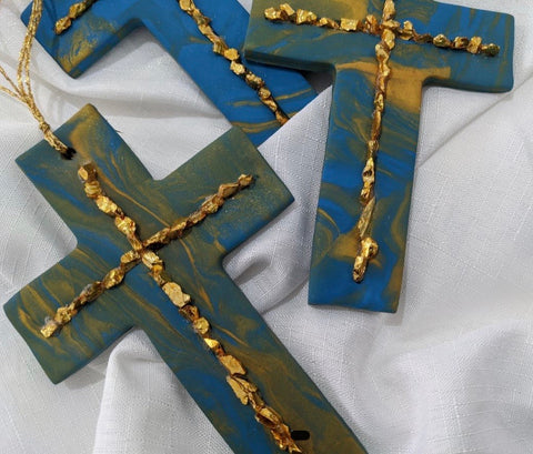 Pieces Gold Cross