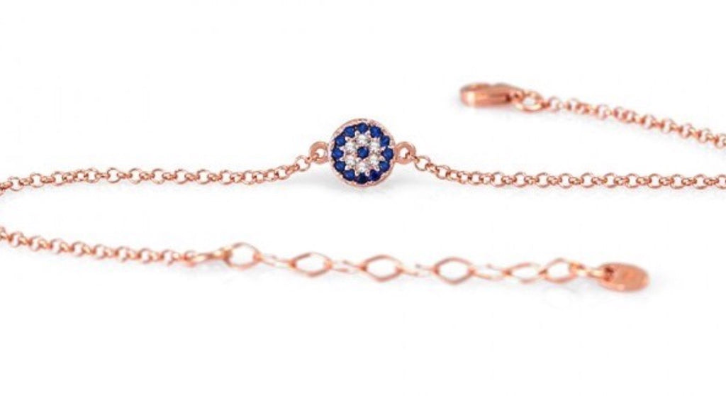 One Eye Bracelet in Rose Gold