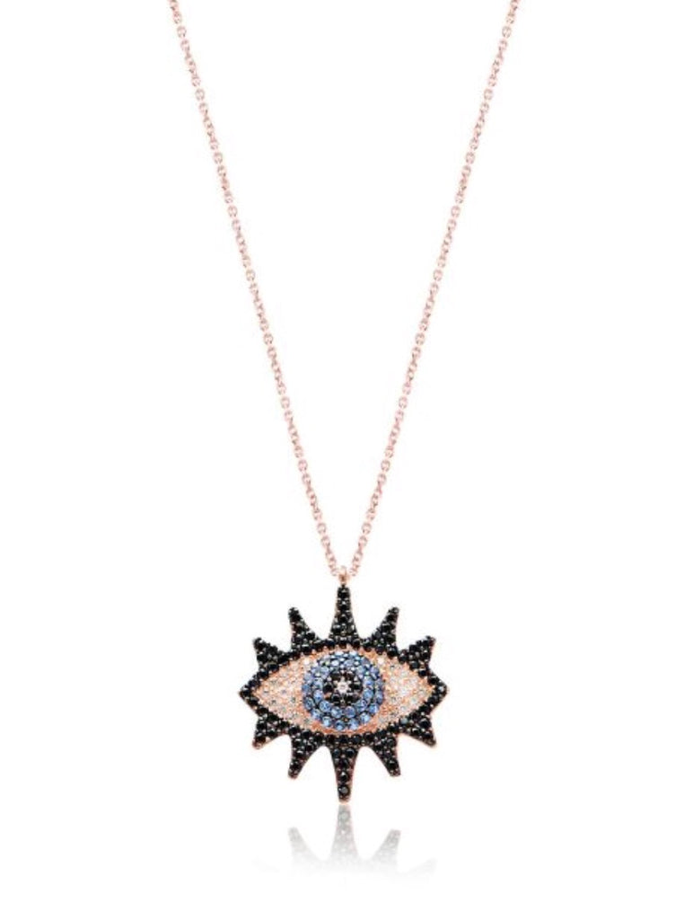 Halloween Evil Eye Necklace