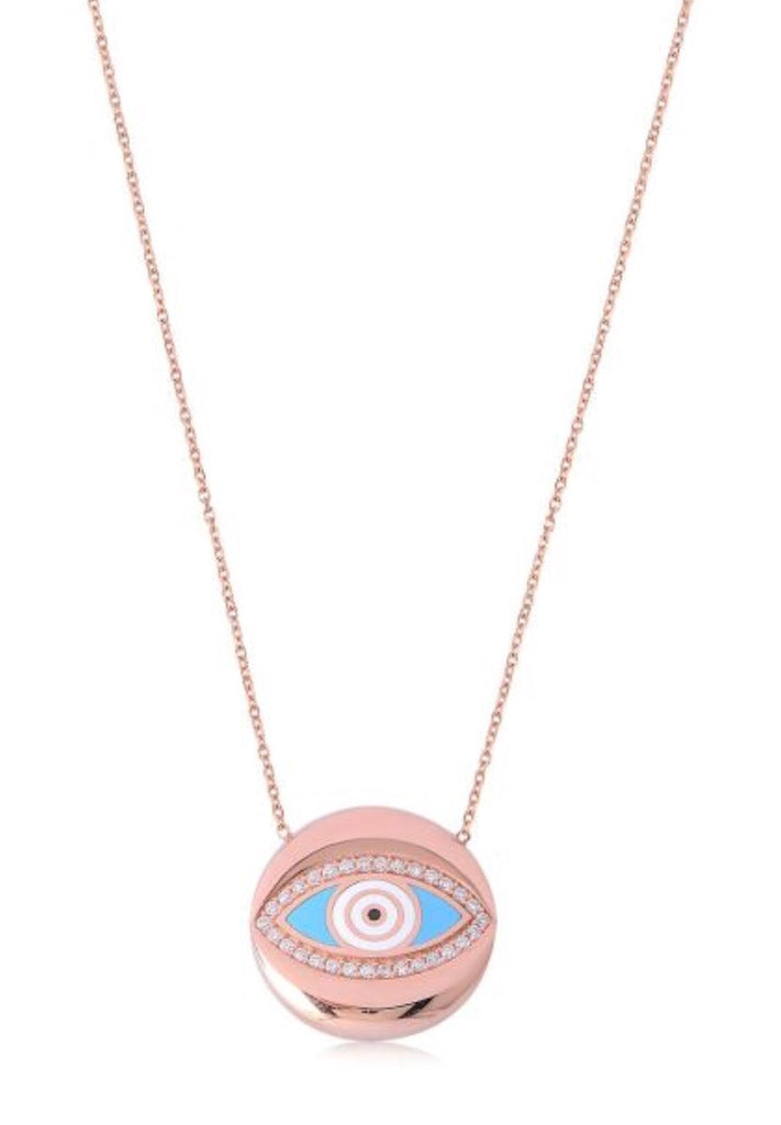 Eye Within Eye Necklace