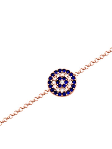 Big Eye Rose Gold Bracelet
