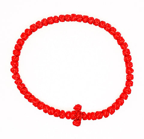 Red Komboskini with Red Beads