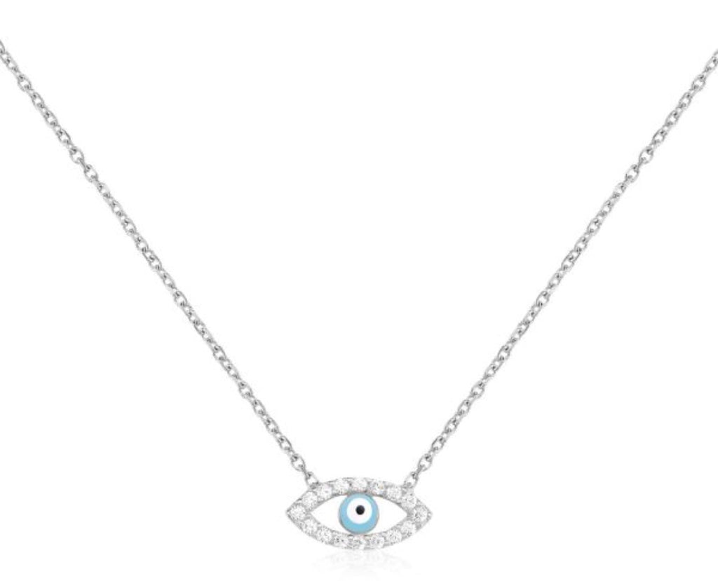 Eye On You Necklace in Gold