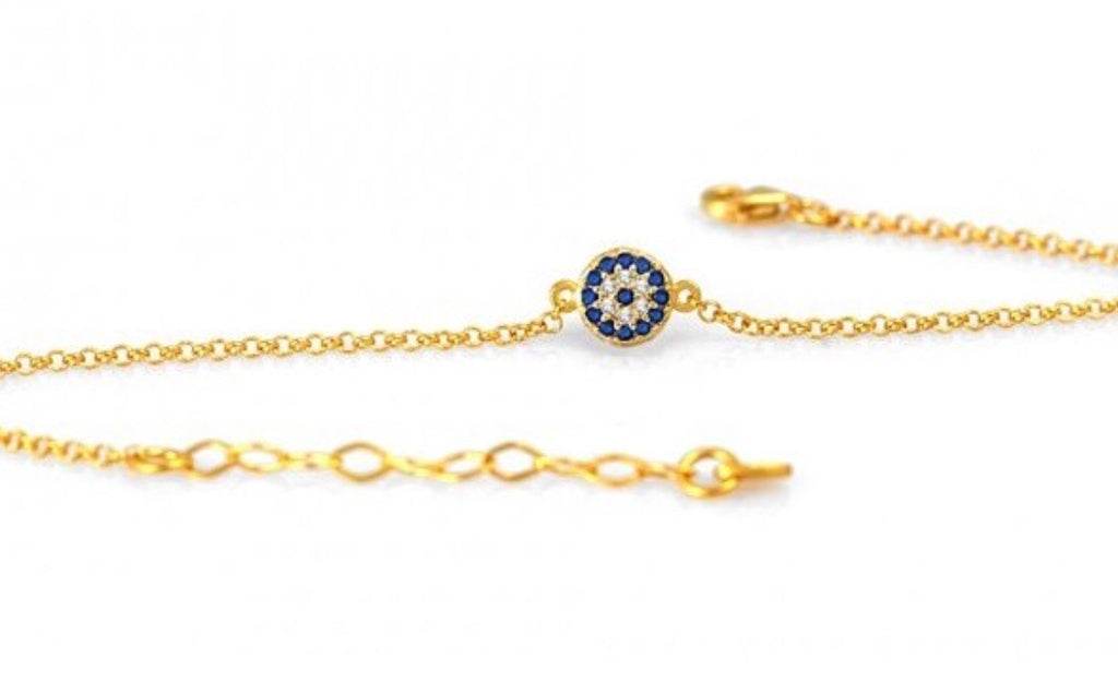 One Eye Bracelet in Gold
