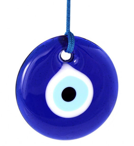 Glass Evil Eye Ornament (Small)