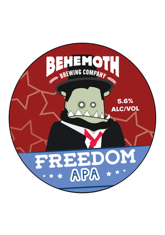 Behemoth Brewing 'Freedom' - APA