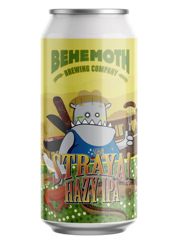 Behemoth Brewing 'Straya!' - Hazy IPA