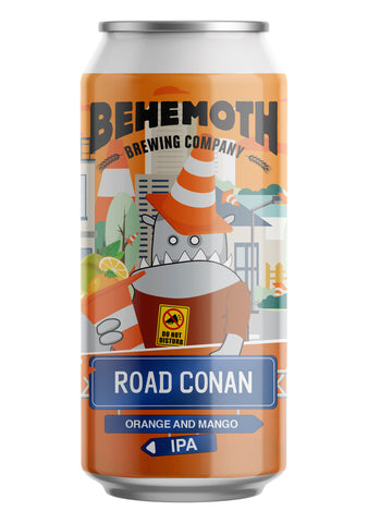 Behemoth Brewing 'Road Conan' - Orange and Mango IPA