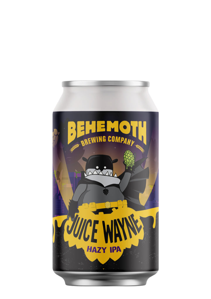 Behemoth Brewing 'Juice Wayne' - Hazy IPA
