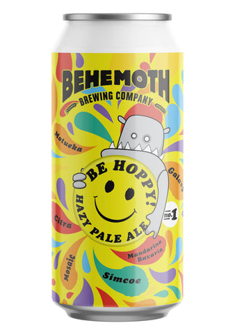 Behemoth Brewing 'Be Hoppy #1'' - Hazy Pale Ale