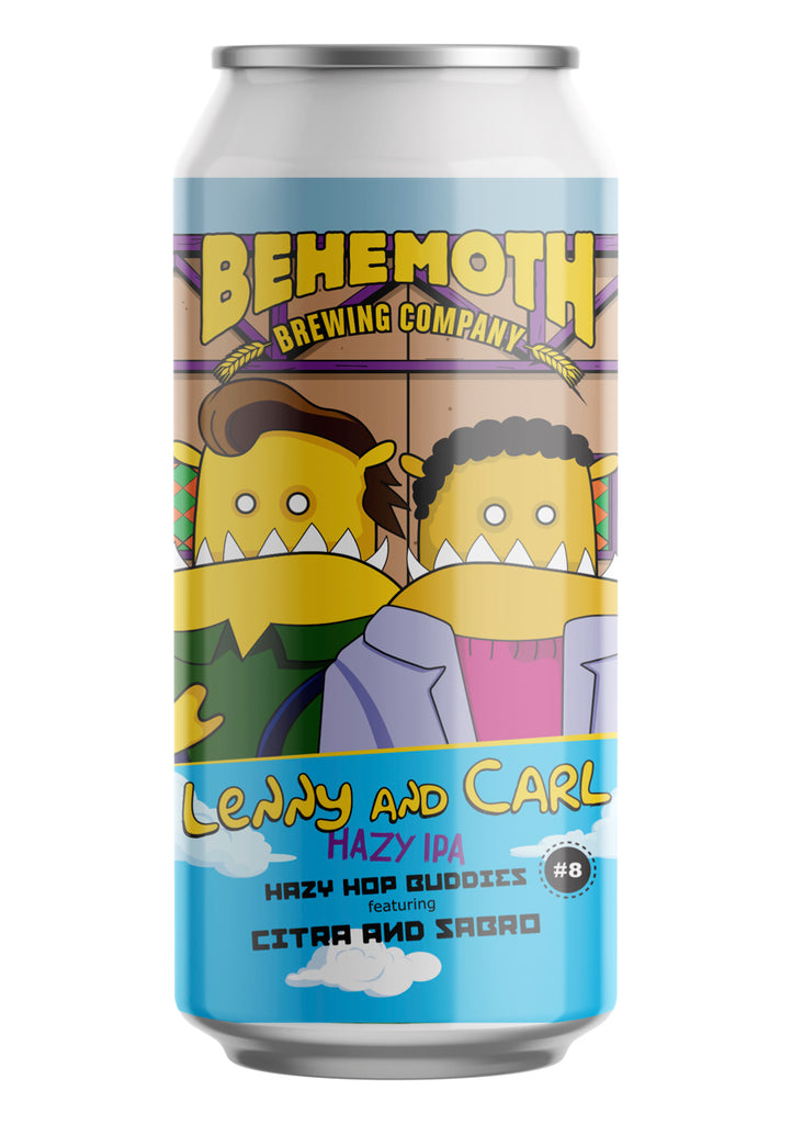 Behemoth Brewing 'Hop Buddies #8 - Lenny and Carl'