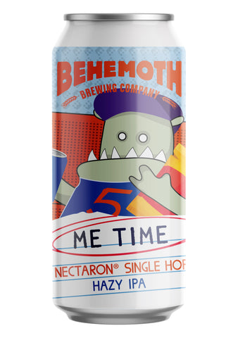 Behemoth Brewing 'Me Time #5' - Nectaron Single Hop Hazy IPA
