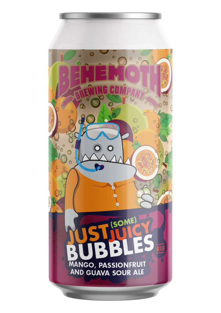 Behemoth Brewing 'Just (Some) Juicy Bubbles' - Mango, Passionfruit and Guava Sour Ale