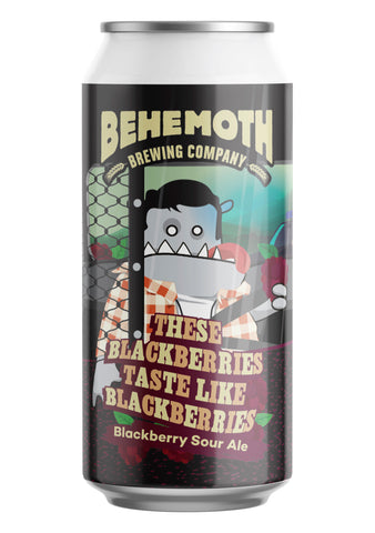 Behemoth Brewing 'These Blackberries Taste Like Blackberries' - Blackberry Sour Ale