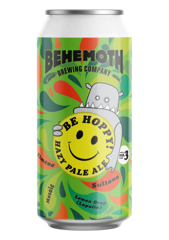 Behemoth Brewing 'Be Hoppy #3'' - Hazy Pale Ale