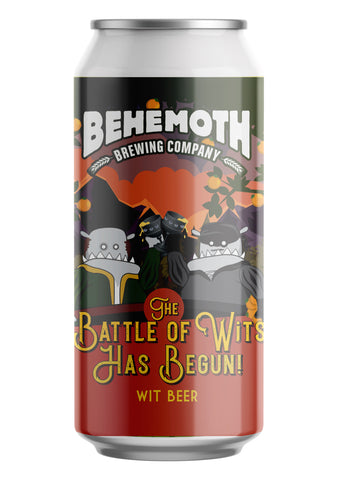 Behemoth Brewing 'The Battle of the Wits Has Begun' - Wit Beer