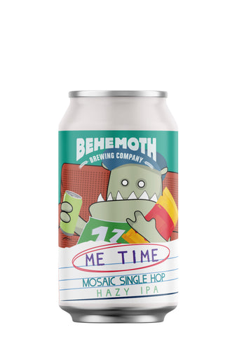 Behemoth Brewing 'Me Time #2' - Mosaic Single Hop Hazy IPA