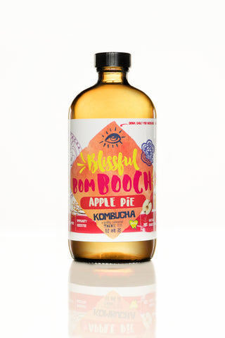 Blissful BomBooch Kombucha - Apple Pie