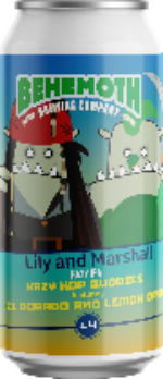 Behemoth Hop Buddies #4 - Lily and Marshall